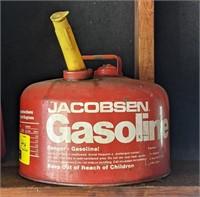 Jacobsen Metal Gasoline Can