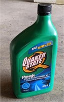 Sealed Bottle of Quaker State SAE 10W-30 Motor