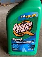 Sealed Bottle of Quaker State SAE 5W-30 Motor