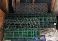 Lot of Fence Posts and Fence Wire
