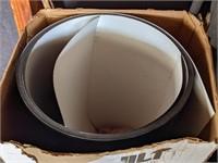 Box of Smooth Acrylic Aluminum Trim. 24in x 50in