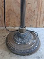 Glass Shade Floor Lamp