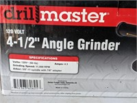 Drill Master 4-1/2in Angle Grinder in Box