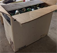 Large Box of Empty Aluminum Cans