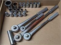 J.H. Williams Socket Wrenches w/ Metric and