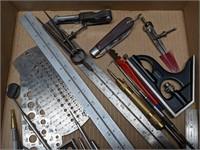Starrett and Craftsman Precision Measuring Tools