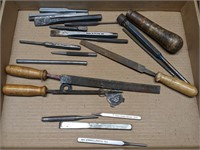 Snap-On Punches and Various Files