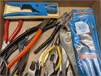 Various Pliers and Side Cutters