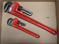 Rothenberger 18in and 10in Pipe Wrenches
