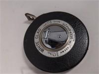 Vtg Lufkin Tape Reel.  One metallic 25', one