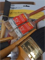 Flat of Paint Brushes