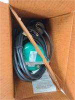 Hydromatic 1/3hp Submersible Pump unused in