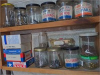 Shelf if Various Fasteners-Copper Nails, nuts,