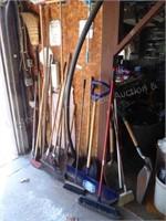 Long handle tools