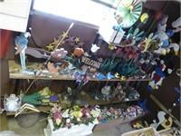 Large lot yard decor items