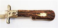 Rare Vintage R Herder German Folding Hunting Knife
