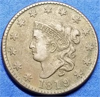 Wed, April 21st 650+ Lot Cline/Bishop Exceptional Coin