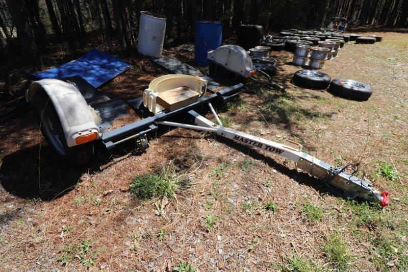'07 Master Tow Car Dolly with 2 New Fenders