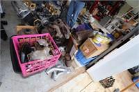 Disassembled 392 Industrial Hemi Motor & Parts