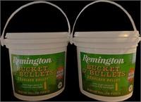 "2 Remington ""Buckets of Bullets"""