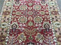 Beautiful hand knotted rug