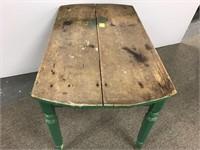 Primitive kitchen table