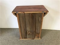 Primitive style wall hanging cupboard