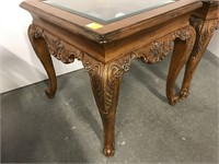 Beautiful pair of end tables