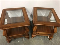 Pair of Broyhill side tables