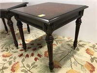 Pair of classical end tables