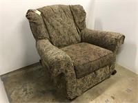 Modern upholstered rocking chair