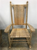 Pair of matching porch rockers