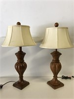 Pair of modern table lights