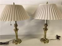 Pair of Stiffel lamps