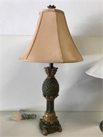 Two modern table lamps