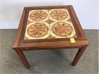 Danish tile top table