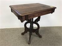 Victorian walnut table