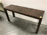 Laminated sofa table