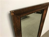Antique Ogee wall mirror
