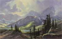 William Jennings Glacier National Park O/C