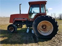 AC 8070 TRACTOR 20.8 x 38 TIRES, POWER SHIFT