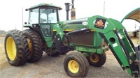John Deere 4850 with Koyker loader,