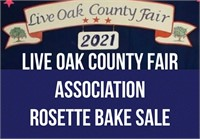 Live Oak Co. Fair Assoc. Rosette Bake Sale