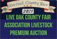 Live Oak Co. Fair Assoc. Livestock  Premium Auction