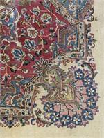 Hand knotted Kirman rug