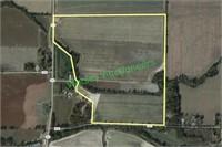 134.14+/- AC. ROW CROP FARM – REAL ESTATE AUCTION