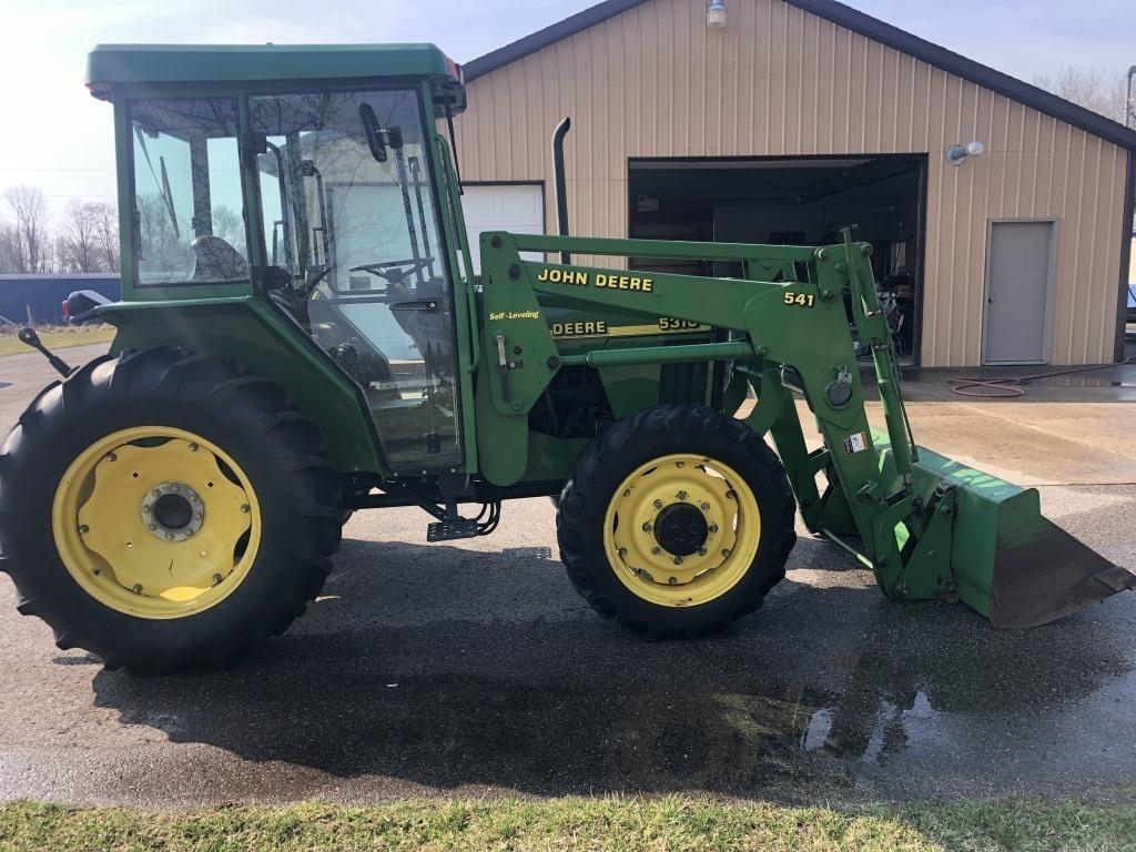 John Deere 5310 Dsl Tractor, 4 W.D., Cab, Air,