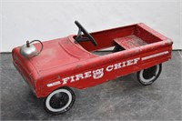 Vtg. Western Flyer FIRE CHIEF Pedal Car w Bell