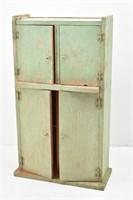 Small Primitive Table Top Cabinet