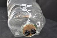 """This little Piggy went to Market"" 5-gal Glass Pig"
